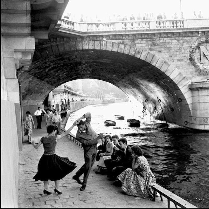 Парижские ретро-фотографии: город любви