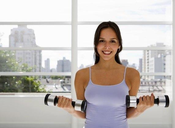 5 простых упражнений для груди.