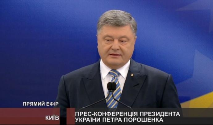 Порошенко: только сумасшедший может считать Украину частью «русского мира»