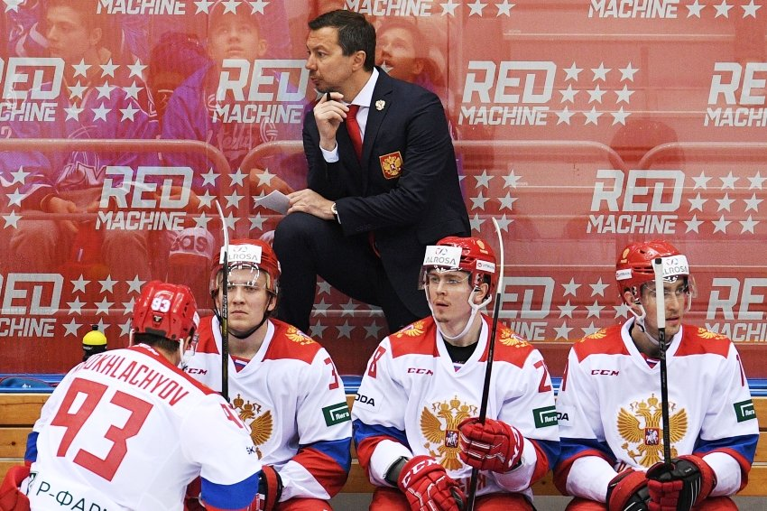 ФХР объявила о назначении Воробьева и.о. главного тренера сборной РФ