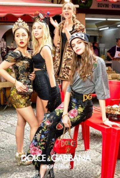 Рекламная кампания Dolce&Gabbana — яркая осень 2017