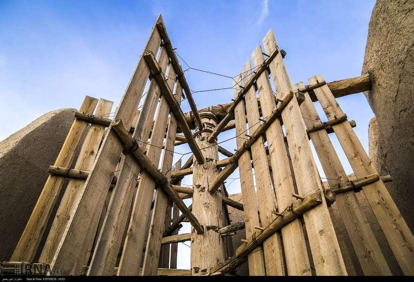 Ветряные мельницы Наштифана — музей древней истории под открытым небом в Иране