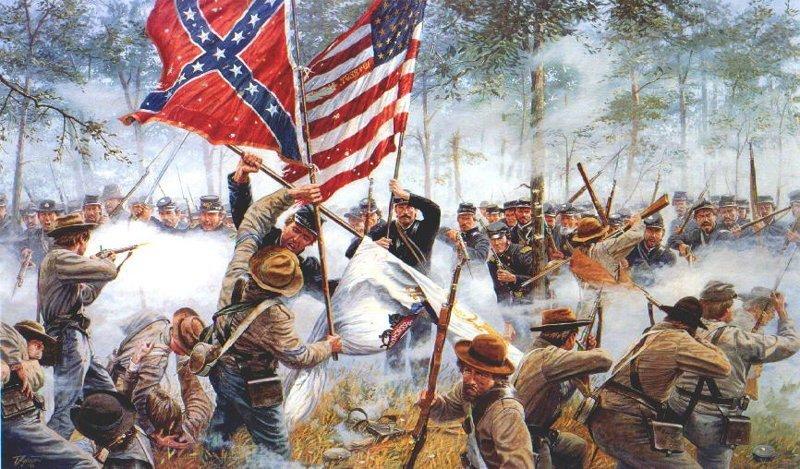 Север и Юг США. Чего они не поделили в 1861 году