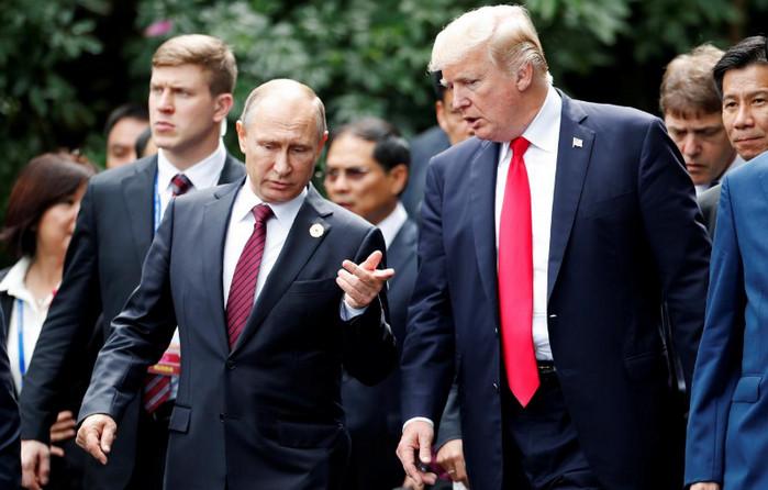 Совместная пресс-конференция Трампа и Путина