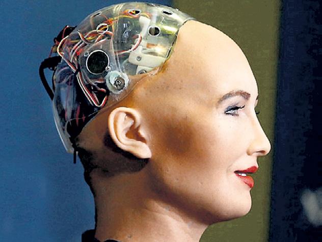 В мире появляется всё больше роботов, которых трудно отличить от людей