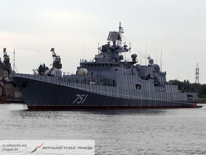 Российский фрегат унизил подлодку ВМС США в Средиземном море