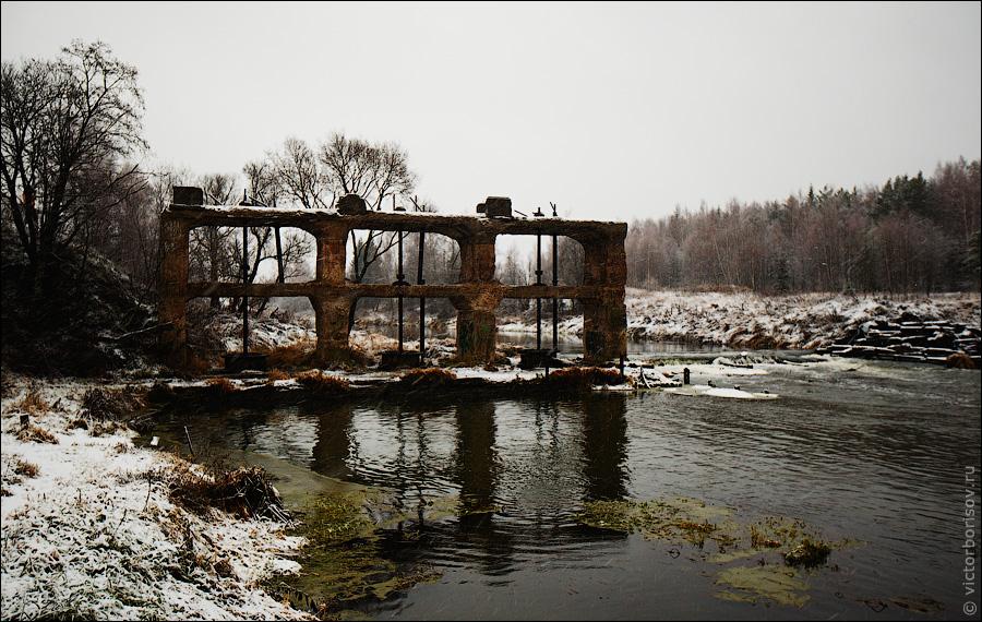14131 Торфобрикетный завод и Дутшевская ГЭС