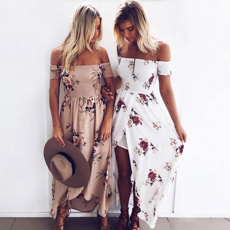 55 образов в платьях с цвето…