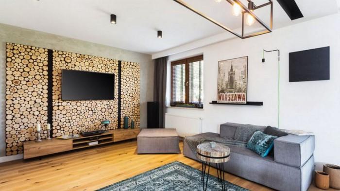Красивый интерьер:  Дом, оформленный в винтажном стиле