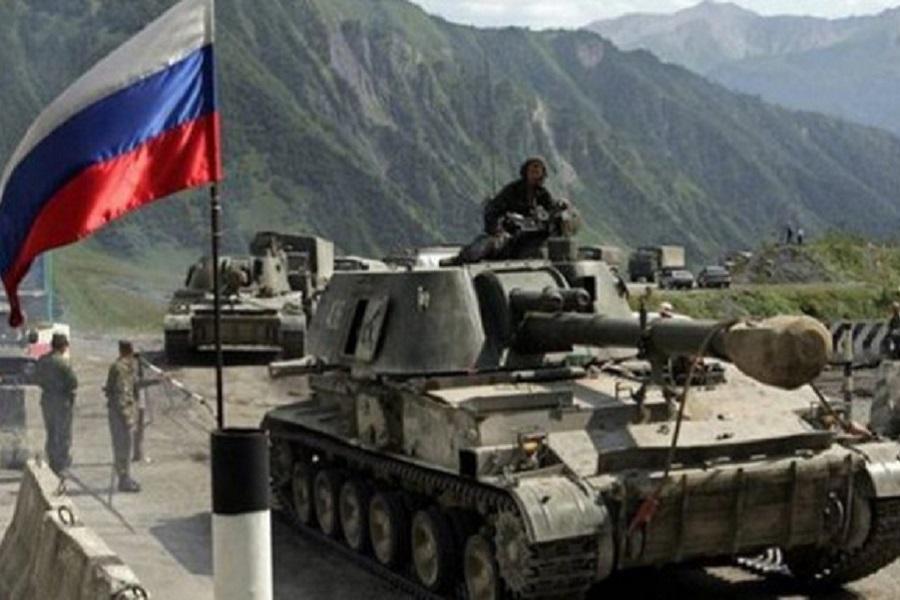Как грузин принудили к миру.…
