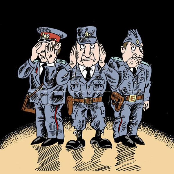Режим секретности, или будни уголовного розыска