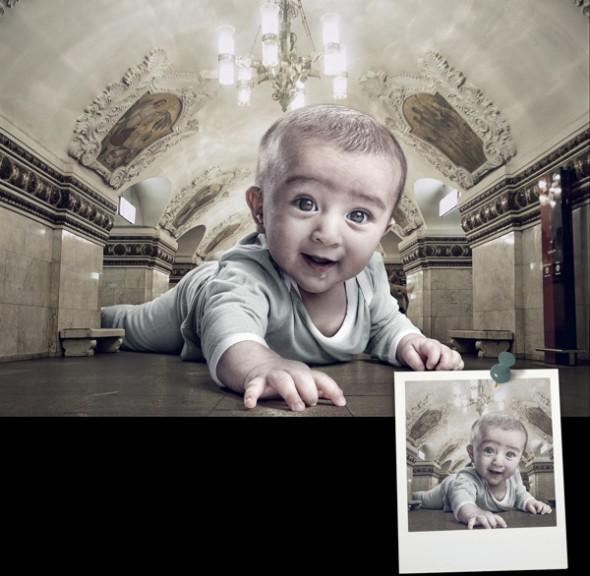 Вдохновляющие примеры фотоманипуляций