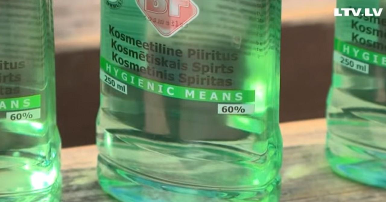 Литва лопает паленку, а алкоголики - все в России