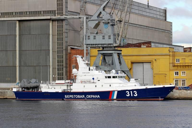 Береговая охрана РФ пополнилась очередным кораблём
