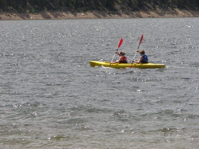 Подростки-байдарочники увидели странный мешок, плывущий по воде… Спасение щенков