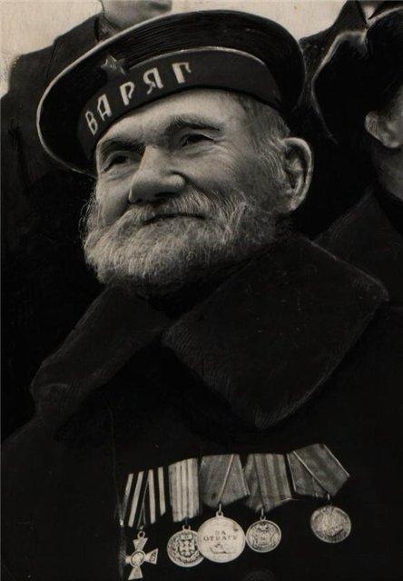 Моряк-ветеран крейсера «Варяг»
