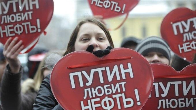 Путин уложил РФ в нефтяную могилу