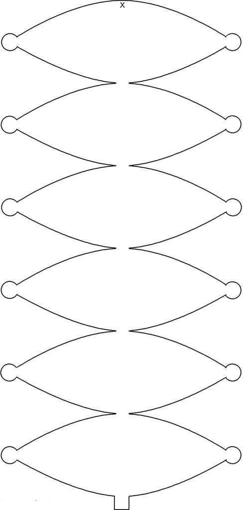 Китайские фонарики своими руками схема