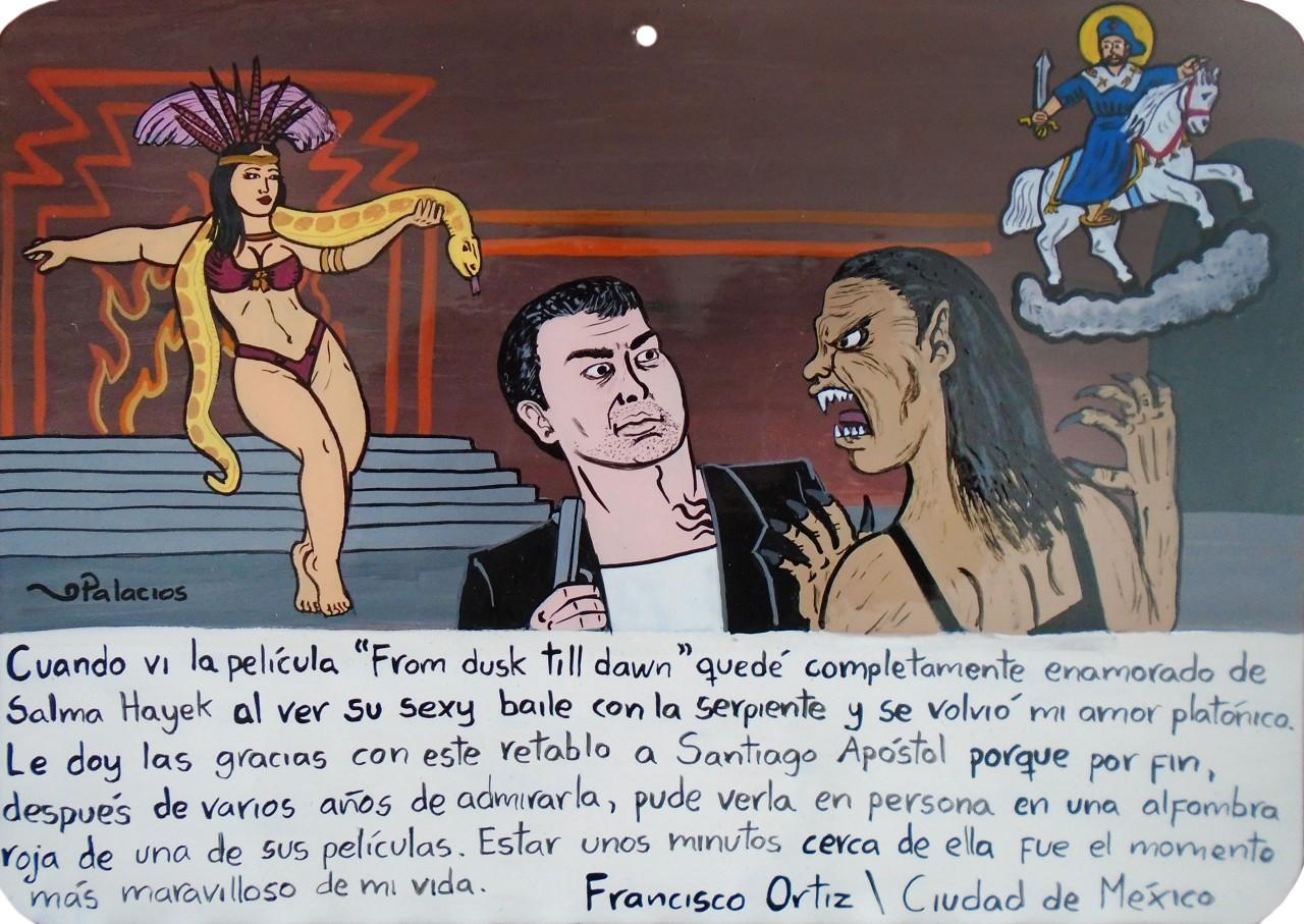Коллекция мексиканских ретабло  с удивительными историями
