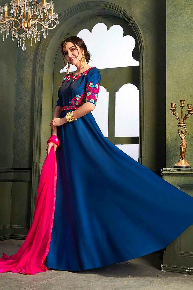 Красивые платья в индийском стиле — достойные богинь, фото № 8