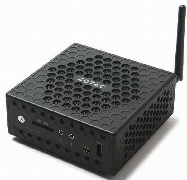 Неттоп Zotac ZBOX CI327 nano поступил в продажу