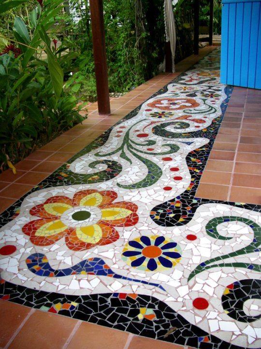 Декор плитки своими руками фото