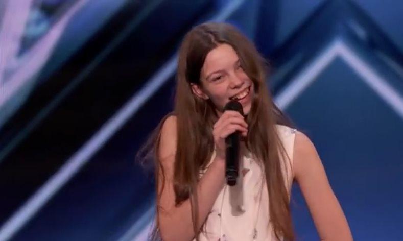 13-летняя девочка запела, и …
