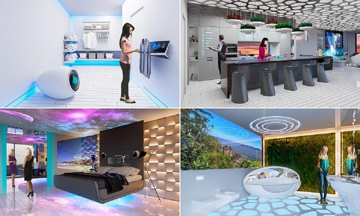 Австралийцы показали, какими будут умные дома 2040 года