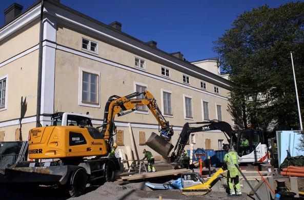 В центре Хельсинки нашли остатки русской крепости