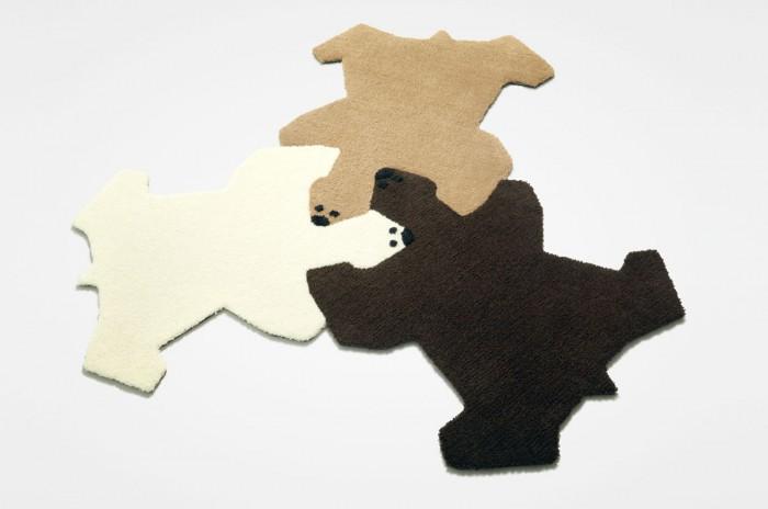 Модульные ковры. Сказка о трех медведях
