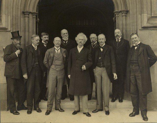 Марк Твен в Палатах парламента. Лондон, 1907 год. история, люди, мир, фото