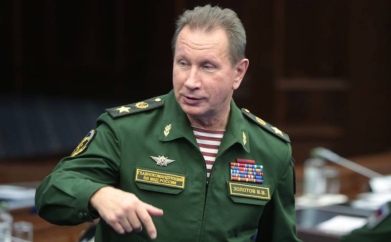 Золотов не собирается встречаться с Навальным на дебатах: «Я его на другое звал»