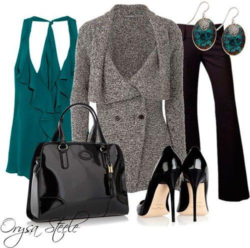 Стильные образы деловой женщины