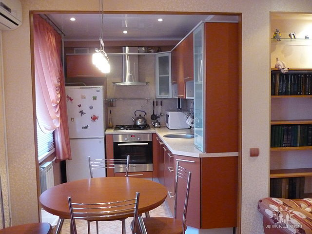 Кухня совмещенная с залом фото