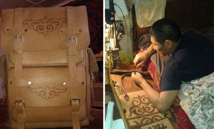 Супруга бросила мужа-инвалида с двумя детьми, но его спасло трудолюбие и сумки из кожи