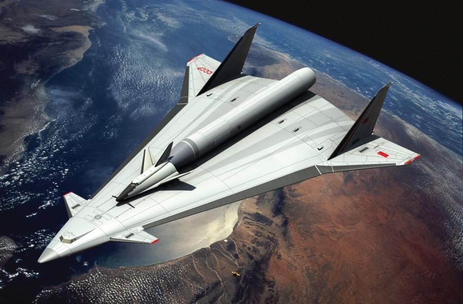 Роскосмос планирует создать ракетоплан с ядерным двигателем