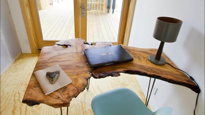 Письменный стол для тех, кто мечтает всегда оставаться поближе к природе.