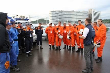 В Сочи работает группировка МЧС России, обеспечивающая безопасность проведения Гран-при России Формулы-1