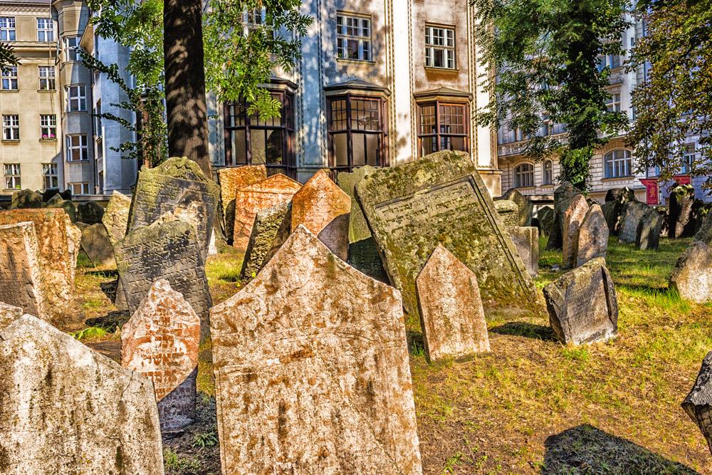 Старое Еврейское Кладбище, Чехия