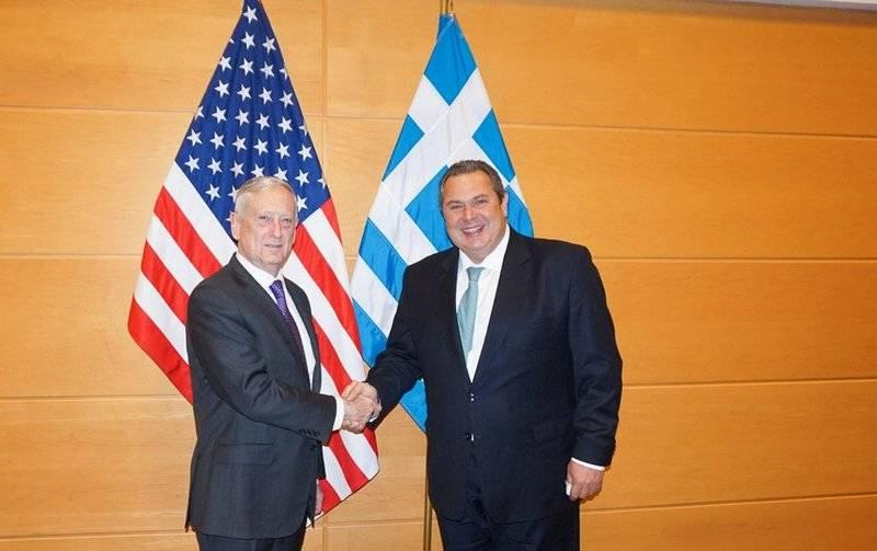 Греция укрепляет оборону с помощью американских военных баз