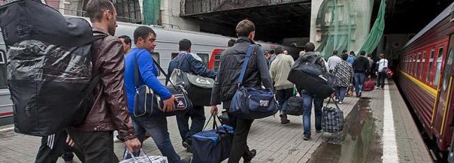 Украинское население расползается из страны по соседним государствам