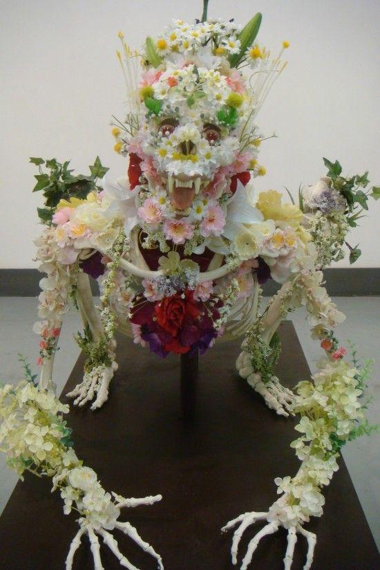 Скелеты из цветов (7 фотографий), photo:4