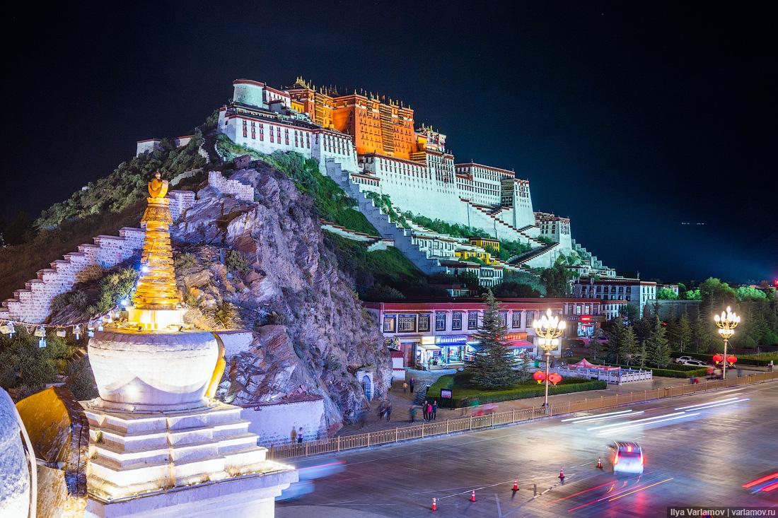 Как китайцы строят прекрасный Тибет