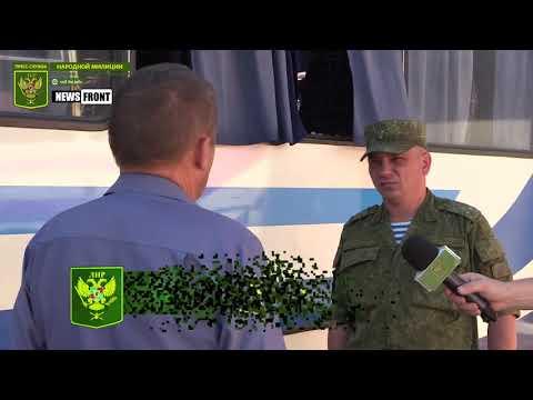 Украинские боевики открыли огонь по автобусу в районе Золотого-5