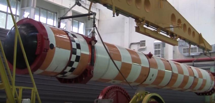 Минобороны показало испытания своего атомного подводного беспилотника