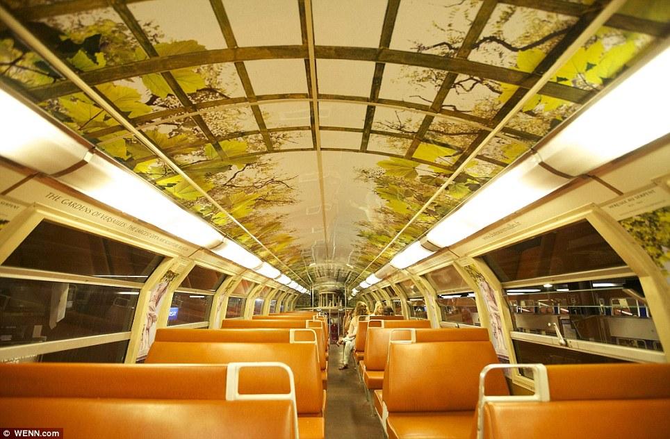 Paris commuter train 6 Версаль в электричке