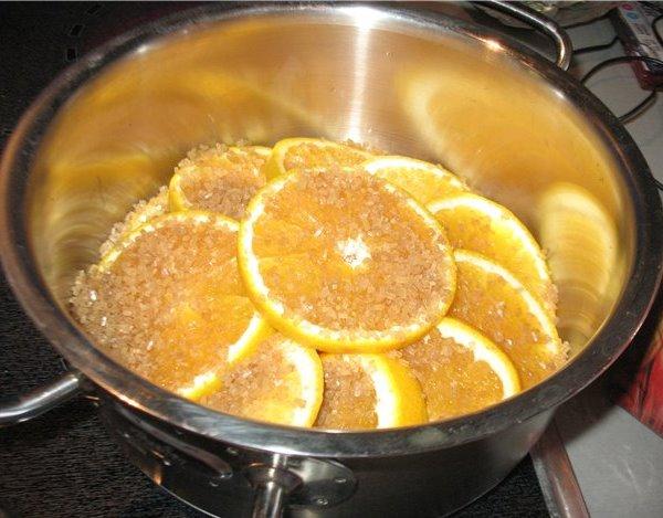 """Как приготовить десерт """"Карамелизированные апельсины"""""""