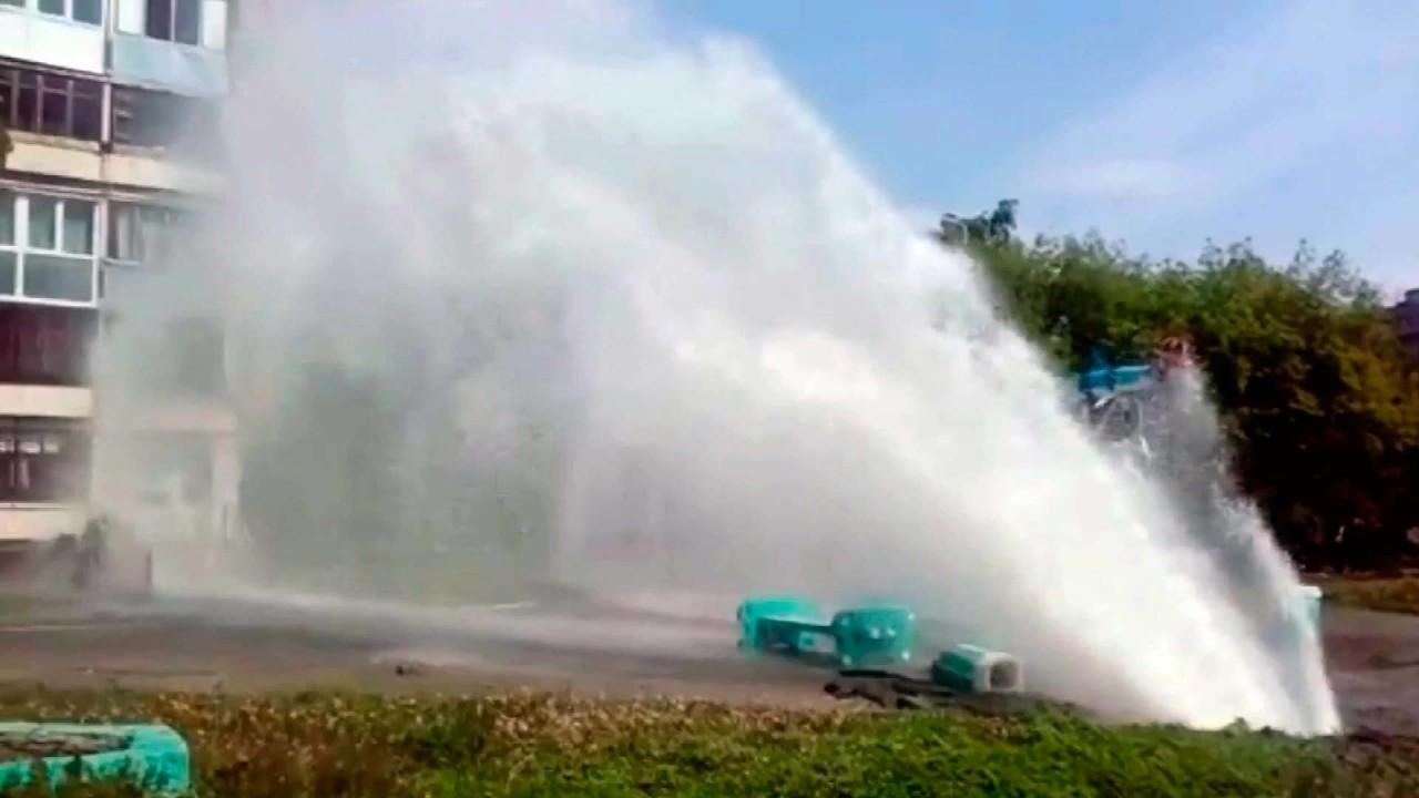 Возвращение горячей воды в Киев прошло неудачно