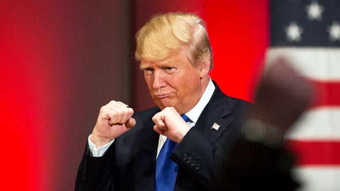 Трамп в нокауте