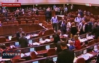 Парламент Израиля принял решение о самороспуске